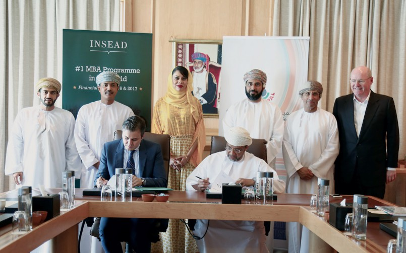 OPAL partners with INSEAD to support leadership training