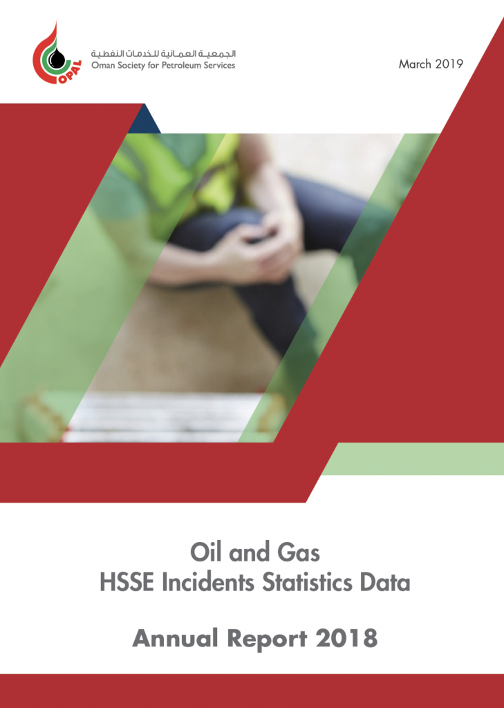 Report 2018 HSSE statistics cover